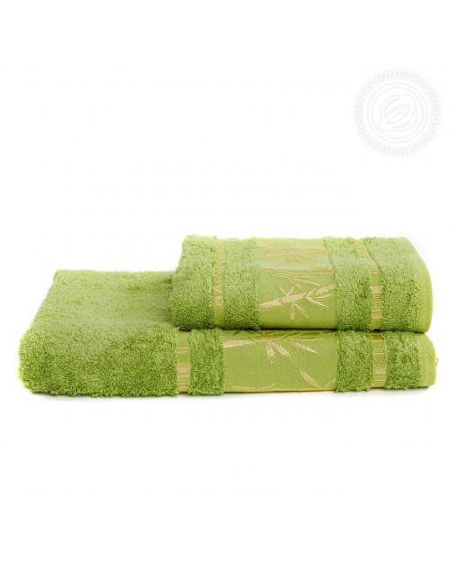 "Набор полотенец ""Бамбук"" (зеленый)"