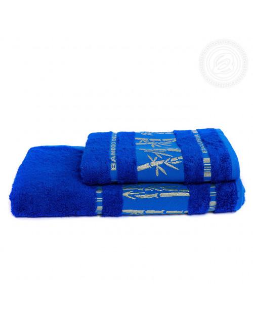 "Набор полотенец ""Бамбук"" (ярко-синий)"